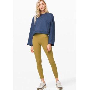 Lululemon 女裤大促 $59收封面牛油果绿Align,$29收短裤