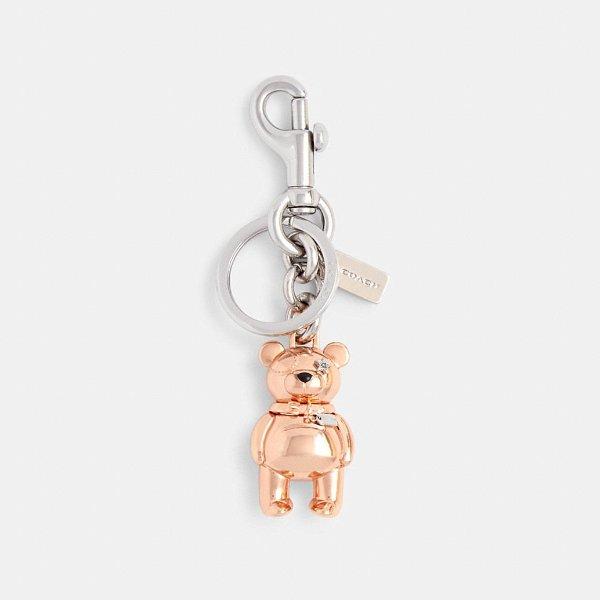 3d 小熊钥匙扣包挂
