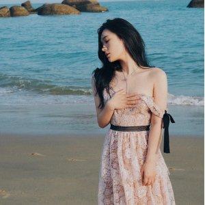 7折 €255收蕾丝连衣裙D'Aniello Boutique 绝美仙女裙专场 性感俏皮两不误 化身在逃公主