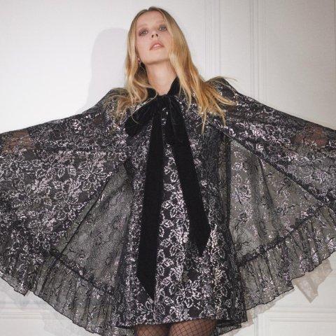 €19收蕾丝连衣裙H&M X The Vampire's Wife 魔幻联名正式发售 哥特式优雅风