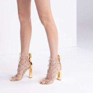 Casadei超仙串珠凉鞋