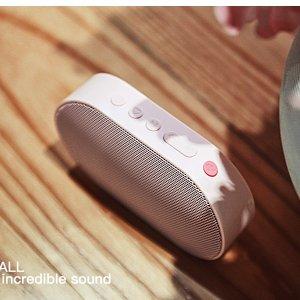 $29.99(原价$59.99) 高颜值4色可选GGMM E2 WiFi/蓝牙无线智能便携音箱