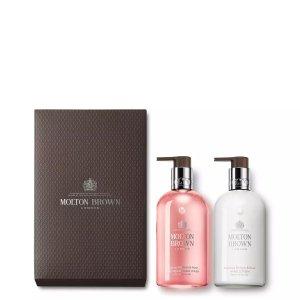 Molton BrownDelicious Rhubarb & Rose Hand Wash & Lotion Set