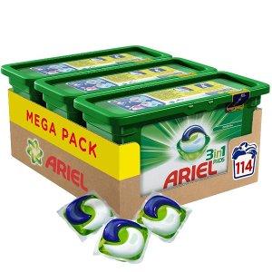 €26.25 (原价€35)Ariel 碧浪3合1洗衣液胶囊水晶凝珠3盒装