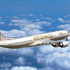 每位乘客订购立减€50Etihad Airways 往返亚洲、印度洋地区、澳洲机票特惠