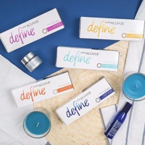 $281 Day Acuvue Define With LACREON @LensPure