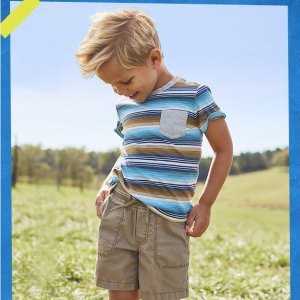 As low as $5OshKosh BGosh Babies & Kids New Tees Sale