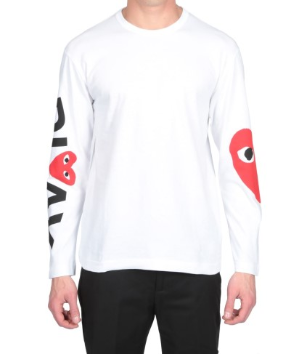 $92.44Italist CDG PLAY T-Shirt