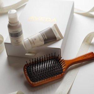 送4件礼包+任意单免邮最后一天:Aveda 防脱洗护发好物 按摩气垫发梳、生发精华