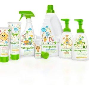 $25两瓶婴儿专用餐具清洗剂Babyganics 纯天然婴幼儿产品热卖 温和无刺激