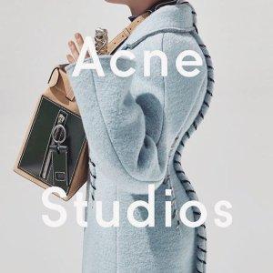全线8.5折 囧脸T$100+入Acne Studios 超全正价专场 多款卫衣、围巾等秋冬好物