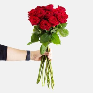 Blume Ideal 41朵红玫瑰 50cm长 可选择交货日期
