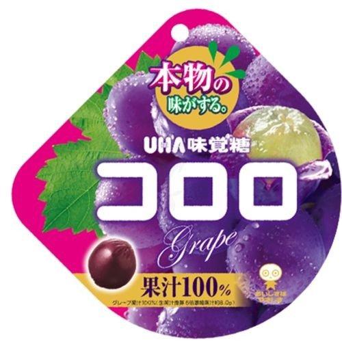 日本UHA悠哈味觉糖果汁软糖 葡萄口味48g
