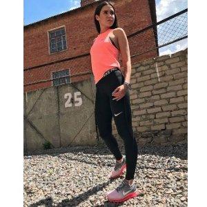 额外7.5折+包邮 $23起折扣升级:Nike女子运动裤,瑜伽裤,紧身训练裤一次买齐