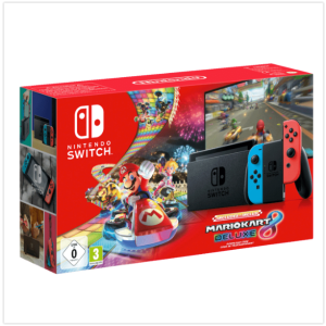 只要315欧圣诞好礼物:史低!任天堂Nintendo Switch游戏主机+ 马里奥赛车8 豪华版