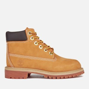 TimberlandKids' 6 Inch Premium Waterproof Boots - Wheat