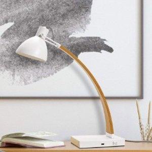 $18.28 (原价$64.99)Lumesty Maya 简约设计仿木小台灯
