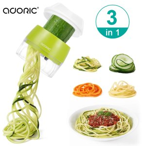Adoric Handheld Spiralizer Vegetable Slicer
