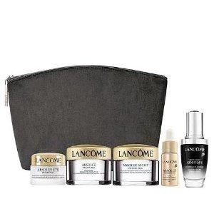现价$75(原价$105)+立减$10Lancôme精纯护肤品套装热卖
