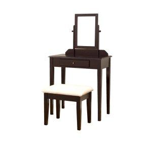 Frenchi Furniture Wood 3 Pc Vanity Set