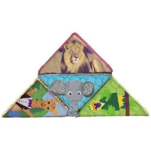 plushibleBaby Einstein Animal Discovery Block Set - Neutral (Discontinued by Manufacturer)