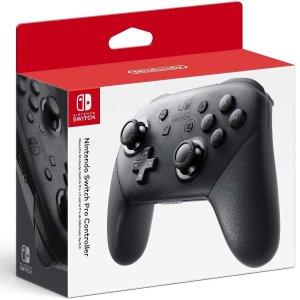 $50.39 (原价$66.85)Nintendo Switch Pro 无线手柄 提升你的游戏体验