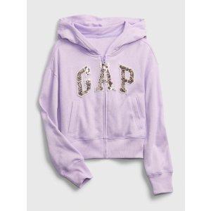 Gap大童logo卫衣
