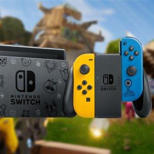 10月30日首发 预定已开启任天堂官宣:《堡垒之夜》限定版Switch 内赠2000游戏币