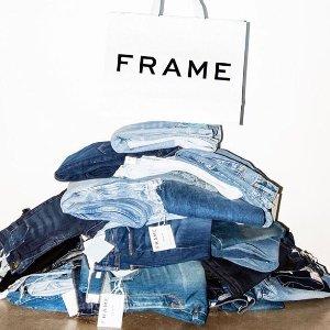 低至2.5折 时髦小脚裤$50起Bergdorf Goodman 潮流牛仔裤热卖 低价收Frame、J Brand