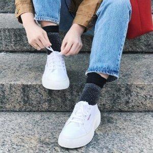 低至5折+额外9折 27胖收INS热门小白鞋Superga官网 美鞋超值促销热卖