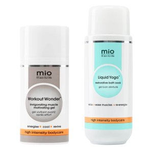 MIO SKINCARE价值$97, 运动凝胶+舒缓沐浴助剂压力舒缓套装(价值$97)