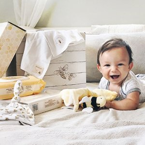 Free $25 Bee-Gift Card over $75Kids Items Sale @ Burt's Bees Baby