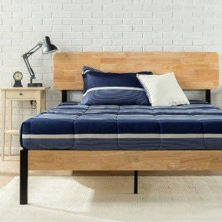 $155Zinus 木质钢组合结构床架 Queen尺寸