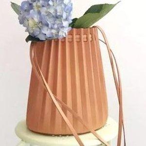 Mansur Gavriel新锐网红品牌,20x19x15cmmini 褶皱水桶包