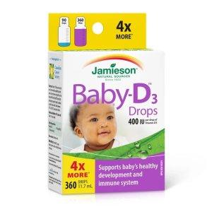 Baby-D™ 维生素D滴剂