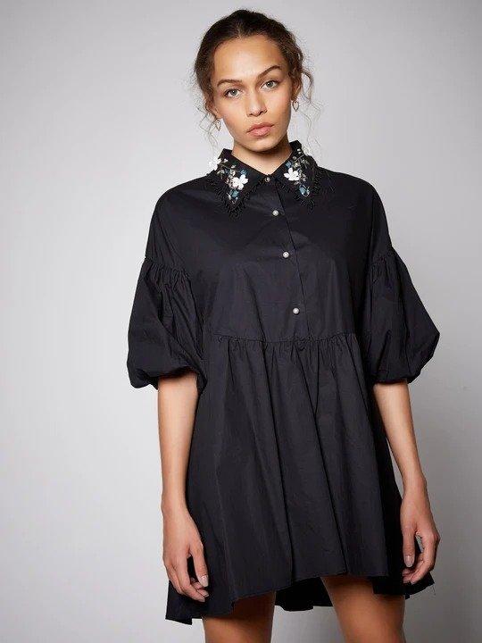 School Fling 黑色连衣裙