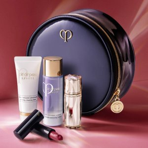 Receive 5-piece beauty bonuswith any purchase over $300 @ Cle de Peau Beaute