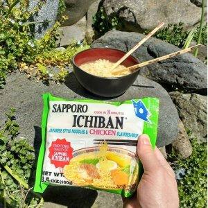 $21.19 起 一袋仅需$0.88Sapporo Ichiban 多口味日式方便面 24袋装