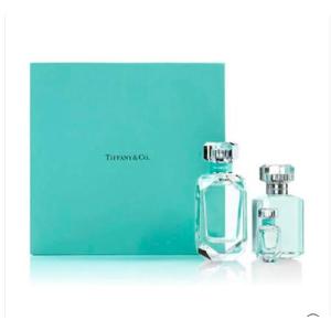 变相¥629+免邮中国+送赠品Tiffany & Co 钻石瓶女士香水礼盒 (香氛EDP75ml+润肤沐浴露100ml+香水EDP5ml)