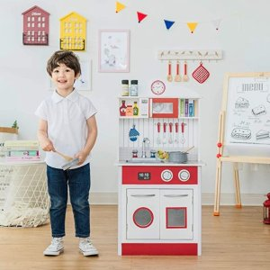 As low as $64.98Teamson Kids - Pastel Little Chef Wooden Play Kitchen & More