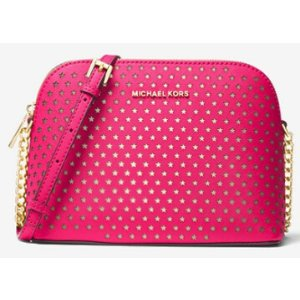 23d00d9405a6ff Michael Kors Cindy Large Saffiano Leather Crossbody. Michael KorsCindy  Perforated Saffiano Leather Crossbody