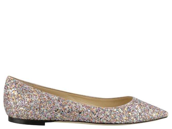 Romy Glitter闪钻单鞋
