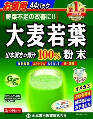 大麦若叶 山本汉方 大麦若叶减肥清肠青汁 3g 44条