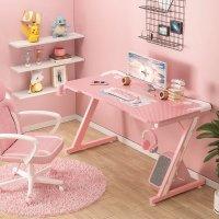 粉色电竞桌 44 Inch