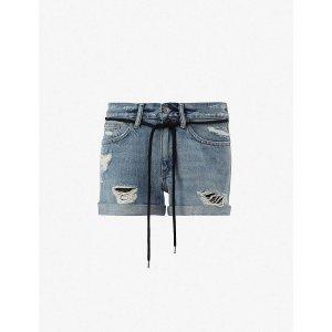 AllSaints牛仔短裤