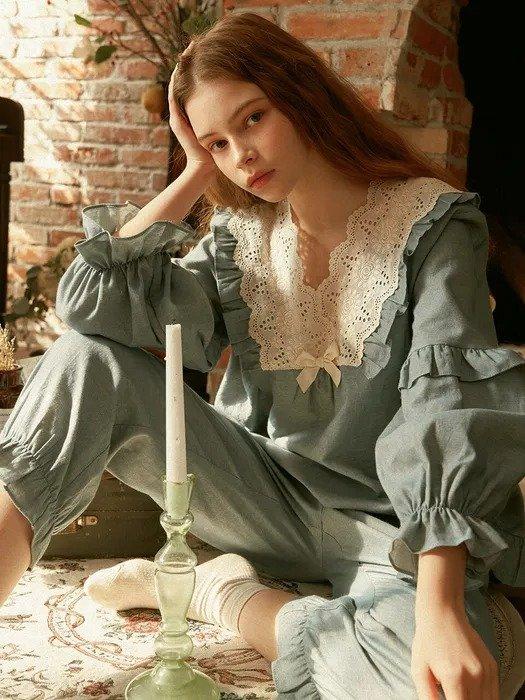 Helena 长袖睡衣套装
