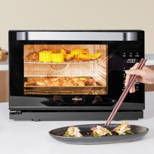 独家:Robam 老板CT761 大容量多功能蒸烤一体机