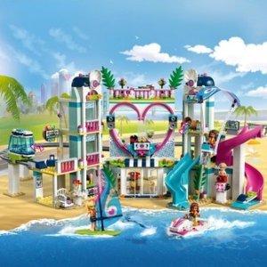 现价£70.99(原价£89.99)Lego 乐高 好朋友系列 41347 心湖城度假区
