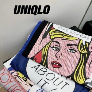 低至5折 €5.9收爆款帆布袋Uniqlo x ROY LICHTENSTEIN 波普教父联名 不一样的艺术UT