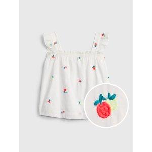 Gap100%纯棉宝宝--小童 水果印花背心